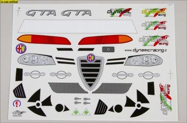 Y1255 01 Alfa Romeo 156 Wtcc Racing Vehicle Decal Set Rc Car