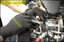 y0715 rc-car-online High tech mechanics gloves, nitrile, bla