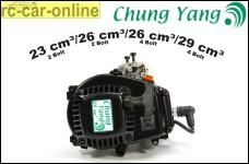 Original Chung Yang-Motor zur Wahl mit Vergaser und Kerze