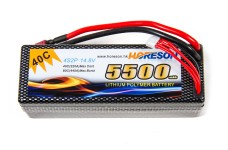 y1300/03 Rc-Car LiPo-Akku 4S/2P 5.500 mAh 14,8 V 40C