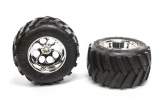 6228/07, FG Monster Truck tires M/ glued, 2 pcs.