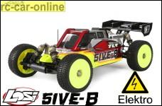 Losi TLR 5ive-B-E Elektro 1:5 4WD Buggy Race Kit inkl. Motor + Regler