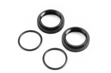 TLR253000 TLR Shock Adjuster Nut with O-ring, 5ive-B, 5ive-T