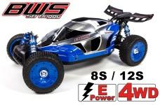 BWS 5B-E 2.0, 4WD Race Buggy 1:5 Race Car, mit 8S oder 12S Motor und Regler
