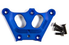 LOSB2559 Losi Alloy Front Top Chassis Brace, Blue 5ive-T and