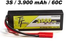 TT1530/339 Top Tuning 3900 mAh LiPo Akku 3S, 11,1V
