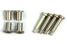 LOSB2074 Losi Front King Pins & Arm Bushings, Alum. 5T,