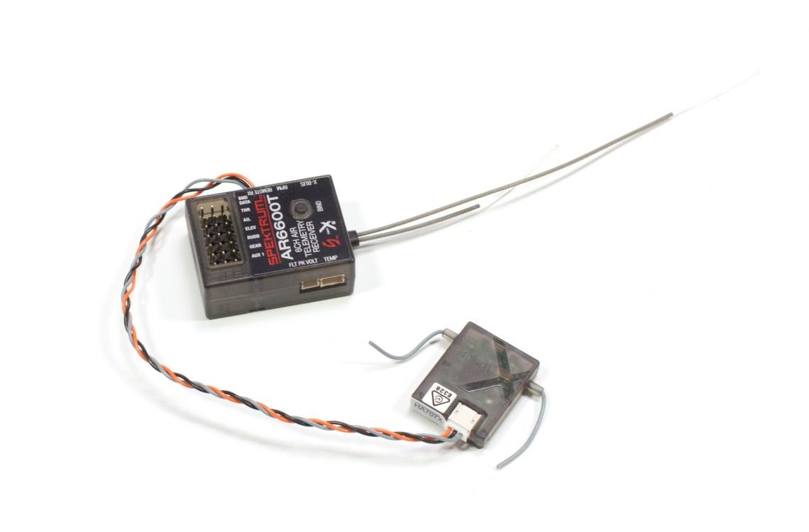 Spektrum DX6 6-Channel System w/ AR6600 Telemetry Receiver - rc-car
