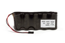 y0657 Receiver battery packs standard size, NiMh, 4500 mAh