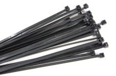 y0674/01 Cable ties black 2,5 x 140 mm, 100 pcs.