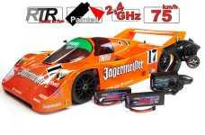 Carson 1/5 CY-Eline 4WD  Porsche 962C Electric, complete RTR, with radio control, batteries and charger
