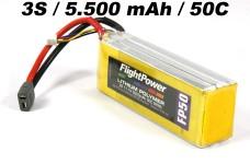 y0783/01 LiPo battery 3S/5500 mAh 11,1 V  50C