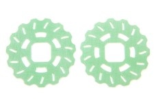 P-R-M 1000-40/03 epoxy discs, slotted and with serrated edge