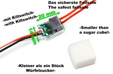 y1147 Failsafe mit Killswitch und Diagnose-LEDs Top Qualit&a