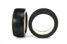 Astro-Grip White competition tires and inserts 180 mm