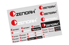y3010 Genuine Zenoah decals set