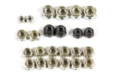 LOSB6590 Losi Lock Nut Asst. 3,4,5,6 mm 5ive-T, TLR 5ive-B a