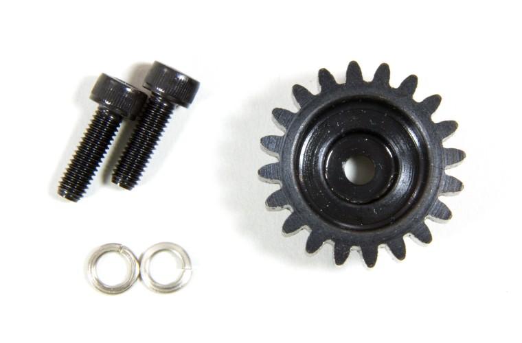 LOSB5045 Losi 20T Pinion Gear 1.5M /& Hardware 5IVE-T,MINI WRC