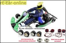 H.A.R.M. Racing Kart RK-1, mit 26 cm³ Motor inklusive kostenlosen Teilen im Wert von 289,- Euro