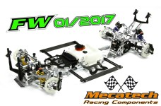 Mecatech FW01/2017 Basic Kit, Tourenwagen Radstand 535 mm