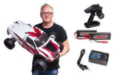 500409022M Carson 1/5 Dirt Monster 4WD 6S off-road buggy, fully RTR with batteries and charger