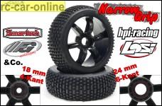 y0658 Narrow-Grip Typ 462 Reifen für Losi, HPI, FG, Car