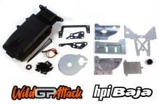 y1587 Conversion kit to electric drive for Carson Wild Attack and HPI Baja 5B