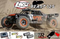 LOS05020T1/BEAST Losi DBXL-E 2.0 4WD 12S Brushless RTR mit F