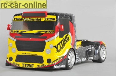 FG Sportsline Truck 4WD with FG Team Truck body shell clear