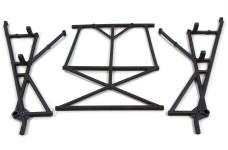LOSB2579 Losi Rear Top & Side Cage Set: 5T, set