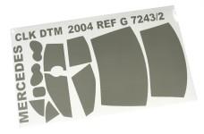 7243/02 FG Scheibenfolie für Mercedes CLK DTM 2004