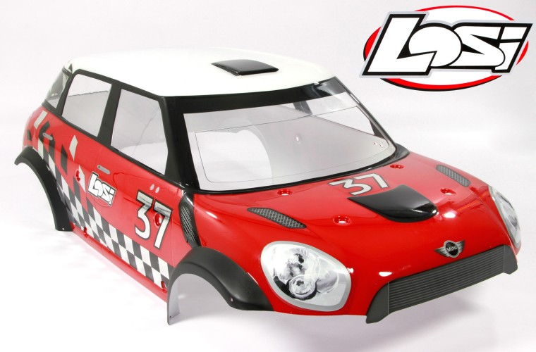 2 Mini WRC Losi LOS254001 Arrière Bras Suspension Set