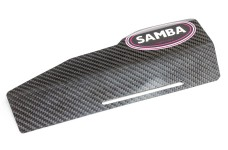 55555 Samba carbon shield for the Samba 7 pipe