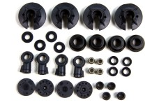 LOSB2855 Losi Shock plastic parts & balls 5T and Mini