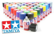 Tamiya Lexan spray paint