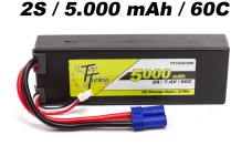 TT1530/250 Top Tuning 5000 mAh LiPo battery 2S, 7,4V 60C