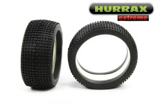 HURRAX extreme Race tires and inlays 175x70 mm