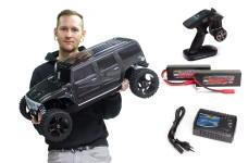 500409022H Carson 1:5er Dirt Hummer 4WD 6S Off-Roader komple
