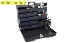 y0846 Werkzeugkoffer Polybutler schwarz, groß