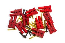 6545/01 FG gold contact plug-in system 2mm - 10pcs.