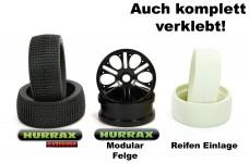 HURRAX extreme Race-Reifen + HR0014 Hurrax-Modular Racefelge