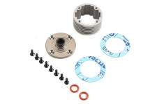 TLR252010 TLR Alloy Diff Housing Set 5ive-B, 5ive-T/2.0