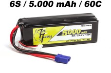 TT1530/650 Top Tuning 5000 mAh LiPo battery 6S, 22.2V 60C