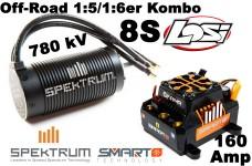 Spektrum Firma 780Kv Brushless Motor mit 160 Amp Brushless E