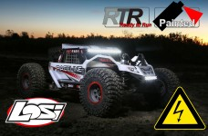 LOS05016T1 Losi 1/6 Super Rock Rey 4WD Brushless RTR, white