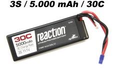 DYN9007EC Dynamite Reaction 3S 11,1V 5000mAh 30C LiPo, Hardc