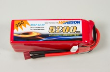 y1300/04 Rc-Car LiPo battery 6S/1P 5.200 mAh 22,2 V 35C