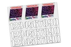y3016 Hoonigan Startnummern Dekorbogen