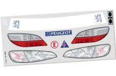 7175/01 FG Vehicle decals set Peugeot 406