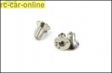 y0730/03 Schrauben für den Ersatzbelag M3 x 6 mm